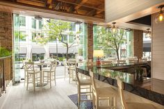 The Hampton Social will open steps from Michigan Avenue this fall Oyster Bar Restaurant, Four Restaurant, Riverside Pool, Best Rose Wine, Chicago Bars, In Memorium, Bar Drinks, Oysters, Great Places