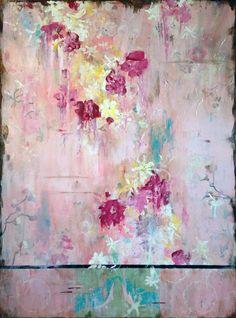 """That Sweet Kiss"" 48x36, acrylic on frescoed panel. Kathe Fraga @Melissa Nelson"
