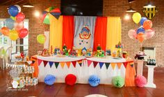 Plim Plim children's theme party - Celebrat : Home of Celebration, Events to Celebrate, Wishes, Gifts ideas and more ! Clowns For Birthday Parties, Birthday Sweets, Party Sweets, Birthday Table, Carnival Birthday, 2nd Birthday, Carnival Themed Party, Carnival Themes, Party Themes