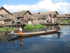 "Intha, also called ""sons of the lake"", live in houses on stilts and depend on fishing and handicrafts such as silk woven, cotton clothing and cigars"