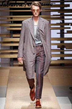 Farb-und Stilberatung mit www.farben-reich.com - Salvatore Ferragamo #ss15 #menswear #fashion #collection #mmfw