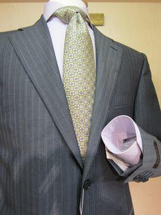 Canali jacket, Eton shirt, Zegna tie styled by www.davelleclothiers.com