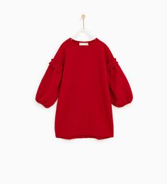 DRESS WITH PUFFY SLEEVES-BEST SELLERS-GIRL | 5 - 14 years-KIDS | ZARA United States
