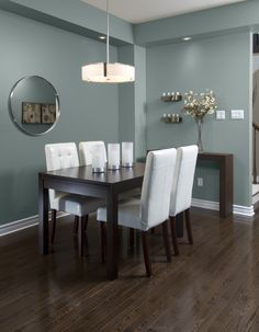 Icelandic Blue is just daring enough without being too dark. #paint