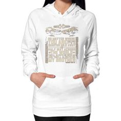 Fashions alwaysbrother Hoodie (on woman)