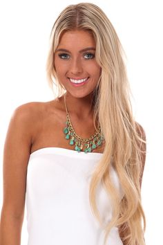 Lime Lush Boutique - Turquoise and Gold Multi Pendant Necklace, $38.99 (http://www.limelush.com/turquoise-and-gold-multi-pendant-necklace/)#lovefashion #new #Spring #fashionblog #instafashion #photomodel #beauty #trend #queen #day #us #follow #girl #dress #princess #look #lookbook #like #beautiful #cute #sexy #iphonesia