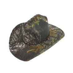 Mossy Oak Camo Cowboy Hat