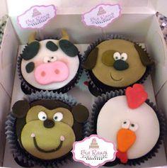 Cupcakes Bichinhos
