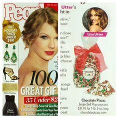 People Magazine Gift Ideas - Chocolate Pizazz!  http://www.chocolatepizazz.com/shop/