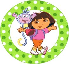 Dora The Explorer Clipart Comic Party, Beatles Party, Dora And Friends, 3rd Birthday Parties, Birthday Ideas, 2nd Birthday, Oh My Fiesta, Dora The Explorer, Christmas Scenes