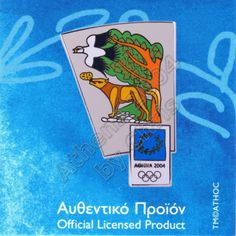 The Crow and the Fox Aesop's Fable Athens 2004 Olympic Pin Olympic Store, 2004 Olympics, Greek Mythology, Olympic Games, Athens, Crow, Social Studies, Greece