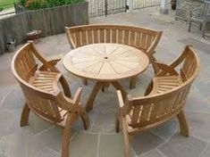 Furniture, Creative Outdoor Furniture Sets Design Made Of Sturdy Wooden Materials: Various Outdoor Tables Use for Your Stylish patio Design Furniture Sets Design, Wooden Sofa Set Designs, Garden Furniture Design, Home Decor Furniture, Rustic Furniture, Antique Furniture, Modern Furniture, Furniture Layout, Furniture Ideas