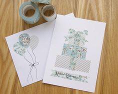 DIY: Washi Tape Birthday Card