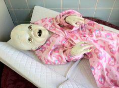 Scary baby in Jerome, AZ