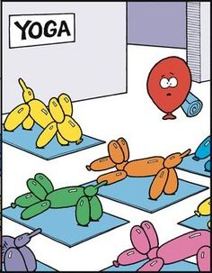 First Day Of Yoga Class Be Like...