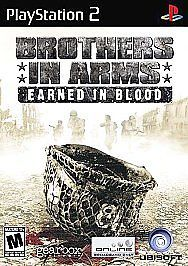 Brothers in Arms: Earned in Blood  (Sony PlayStation 2, 2005) #videogames #playstation2 #ps2 #c2cth