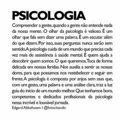 #psicologia #psicologiaclinica #psicologiainfantil #psicologo #psi #psicologiasocial #psicanalise #psicanaliseinfantil #psicoterapia #psicoterapiainfantil #façapsicoterapia #terapia #amor  #vida #psico #façaterapia #felicidade #saude #saudemental #mente #pensamentos #frases #autoestima #qualidadedevida #bemestar #love #feliz #bomdia #osorio #capaodacanoa Virgo Personality Traits, Inspirational Text, Health Psychology, University Life, Life Thoughts, Beauty Quotes, Texts, Mindfulness