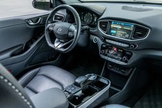The powertrains for the Hyundai Ioniq EV, PHEV, and hybrid have been detailed. Luxury Hybrid Cars, Luxury Cars, Electric Car, More, Super Cars, Cabin, Vehicles, Moda Masculina, Cabins