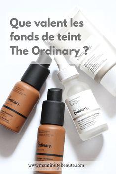 Que valent vraiment les fonds de teint The Ordinary ? - more_make_up_pintennium Mac Makeup, Makeup Brushes, The Ordinary, Nars, Black Women, Foundation, Personal Care, Skin Care, Beauty