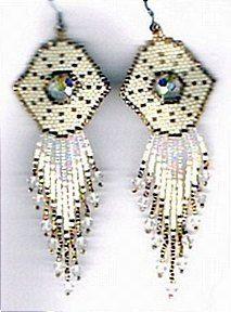 Fairy God Mother Earrings Pattern at Sova-Enterprises.com