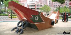Playing with dragons: Singapore's playgrounds of the past