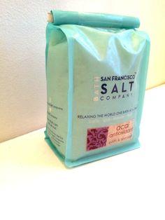 Acai Antioxidant San Francisco Salt Company Bath Salts 2lbs. #SanFranciscoSaltCompany