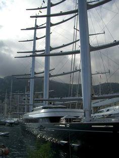 Maltese Falcon - Perini Navi at Monaco Yacht Show