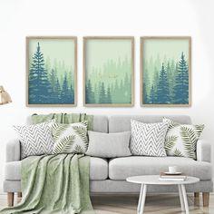 Wall Art Decor, Wall Art Prints, Evergreen Forest, International Paper Sizes, Modern Wall Art, Your Space, Light In The Dark, Online Printing, Digital Prints