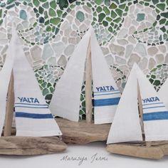Driftwood boats by Marusya Jermi follow me in instagram marusyajermi