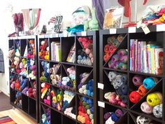 Looking for a variety of yarn for knitting or maybe taking a class check out Kaleidoscope Fibers