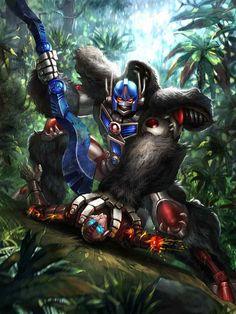 TRANSFORMERS LEGENDS - Optimus Primal (Beast Wars)