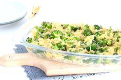 Pastaschotel met broccoli