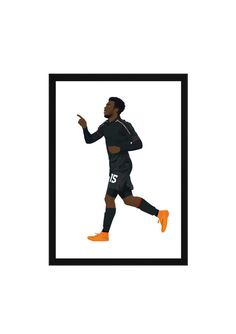 Daniel Sturridge A3 Poster: 297mmx420mm Benteke, Firmino, Coutinho, Suarez, LFC, Liverpool, England, Football, Soccer, YNWA, Henderson, Ibe