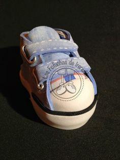 Zapatillas de deporte en goma eva para fofuchas. Las fofuchas de ... e21438aabe46d