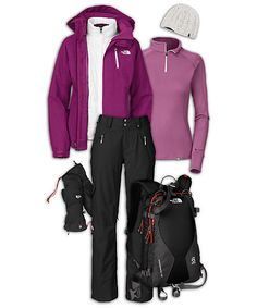 Ski Outfits for Women | Resort Skiing
