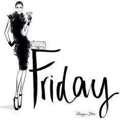 Friday! -- Megan Hess Illustration