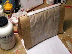 Judy Wise..Paper Bag Art Journal Tutorial -