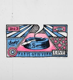 Andre_Saraiva_le_baron_screen print_serigraphie_graffiti_street_art_paris_monsieur A Mr A online gallery sold art soldart