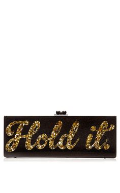 Shop Flavia Hold It Clutch by Edie Parker for Preorder on Moda Operandi