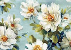 Flower Painting_By Lisa Audit_(94 item) All together | Blisse Design Studio