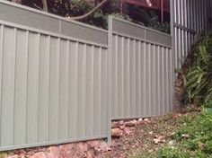 Image result for colorbond fence height extension