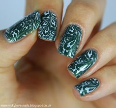 Vicky Loves Nails: Stamping with Born Pretty Store BP22