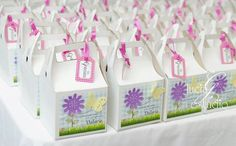 Favors at a Garden Party #garden #party