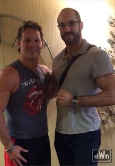 Recent Photo of Chris Jericho and Cesaro Hanging Out http://dailywrestlingnews.com/?p=65717