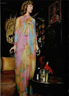 1970s Evening Maxi
