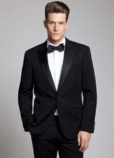 The Tuxedo Royale, perfect for a black tie wedding.