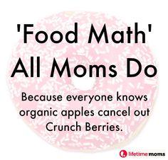 'Food Math' All Moms