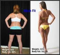 This is the Most Impressive Post Pregnancy Body Transformation in Only 4 months.. http://hitchfit.com/2012-01-05/before-afters/post-pregnancy-online-client-sheds-45-lbs-becomes-bikini-bombshell/
