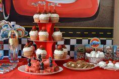 Candy bar для вечеринки с Тачками. Cars party