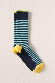 Men's dress socks by HappySocks, ect.